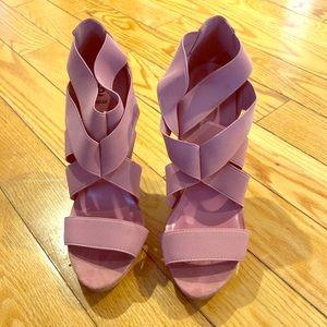 Bakers pink heels